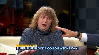 Super blue blood moon Wednesday
