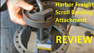 getlinkyoutube.com-Review of Harbor Freight Scroll Bending Attachment