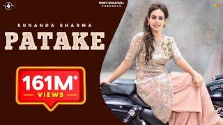 getlinkyoutube.com-PATAKE (Full Video) || SUNANDA SHARMA || Latest Punjabi Songs 2016 || AMAR AUDIO