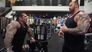 "getlinkyoutube.com-A DAY WITH THOR ""THE MOUNTAIN"" - 6'9 400LBS - TRAINING GOLDS - EATING BEVERLY HILLS"