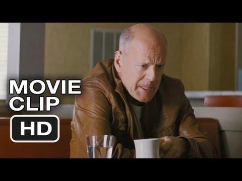 Looper Movie CLIP - Diner Face Off (2012) - Joseph Gordon-Levitt, Bruce Willis Movie HD