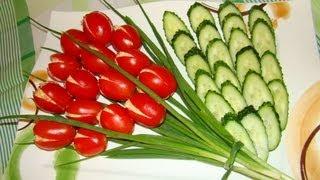 getlinkyoutube.com-Салат тюльпан