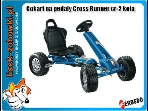 Gokart FERBEDO na pedały Cross Runner cr-2