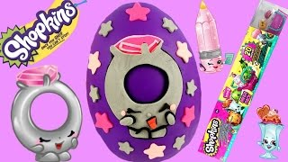 SHOPKINS Limited Edition Ring a Rosie Play Doh Egg! Season 3 Mega Pack!! Zelfs!