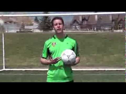 How to trap a soccer ball - improve soccer ball control - Foothills Online Soccer Academy