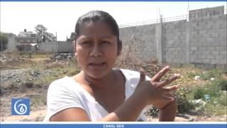 getlinkyoutube.com-Vecinos de la calle Palmas de Cuautzingo solicitan sean conectados a red de drenaje