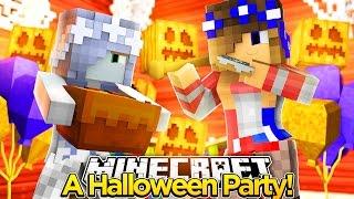 getlinkyoutube.com-Minecraft -CARLEY QUINNS HALLOWEEN PARTY (Hide&Seek Special)
