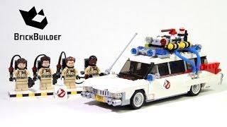getlinkyoutube.com-Lego 21108 Ghostbusters Ecto-1 - Lego Speed Build