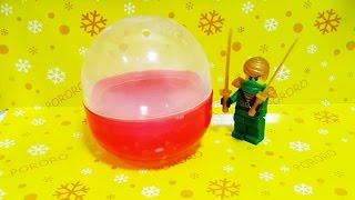 getlinkyoutube.com-[Egg Capsule Toy] 레고 닌자고 녹색닌자 로이드 캡슐 장난감 오픈 조립 Ninjago Toy