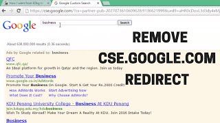 getlinkyoutube.com-How to Remove cse.google.com Google Custom Search & Other Proxy Redirects