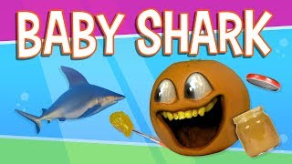 getlinkyoutube.com-Annoying Orange - Mini Shark (ft. Markiplier)