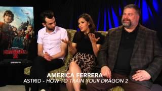 getlinkyoutube.com-HOW TO TRAIN YOUR DRAGON 2 Interview Jay, America & director Dean DeBlois