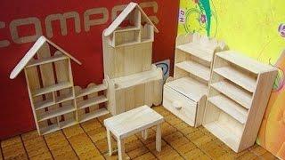getlinkyoutube.com-Simple DIY Ideas Mini Shelf Jewelry Using Popsicle Stick  - Craft For Kid