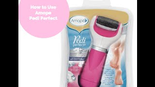 getlinkyoutube.com-How to Use Amope Pedi Perfect