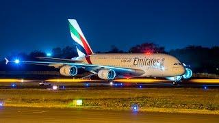 getlinkyoutube.com-Brand new Airbus 380 of Emirates Airlines-Departure