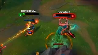 LoL Best Moments #98 Lee sin outplays illaoi (League of Legends)
