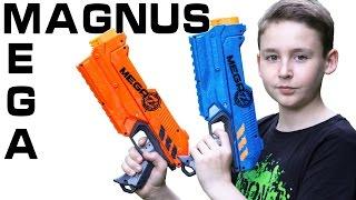 getlinkyoutube.com-Nerf Mega Magnus Zombie Strike Z.E.D. Squad  2-Pack