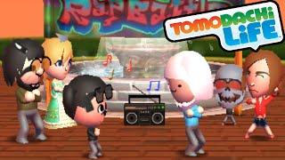 Tomodachi Life 3DS Finn's Rap Battle, Train Proposal Time Gameplay Walkthrough PART 25 Nintendo