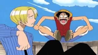 getlinkyoutube.com-One Piece HD วันพีซ ลูฟี่วาดรูปมนุษย์เงือกครั้งแรก