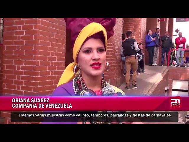 XV Festival internacional universitario de danzas Guillermo de Castellana