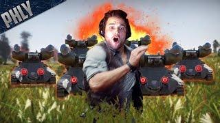 getlinkyoutube.com-RTB MAYHEM - BEST CUSTOM BATTLE EVER (War Thunder Tanks)