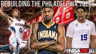 getlinkyoutube.com-NBA 2K16 MyLEAGUE: Rebuilding the Philadelphia 76ers!