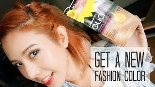 getlinkyoutube.com-เปลี่ยนสีผมแฟชั่นแบบไม่กลัวเสีย ด้วย Garnier Olia 8.0