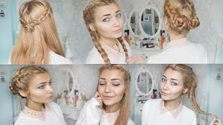getlinkyoutube.com-4 Cute Braid Back To School Hairstyles