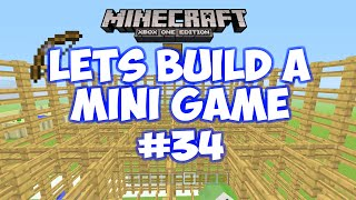 getlinkyoutube.com-Minecraft Xbox - Lets Build A Mini Game World - 34 - FENCING