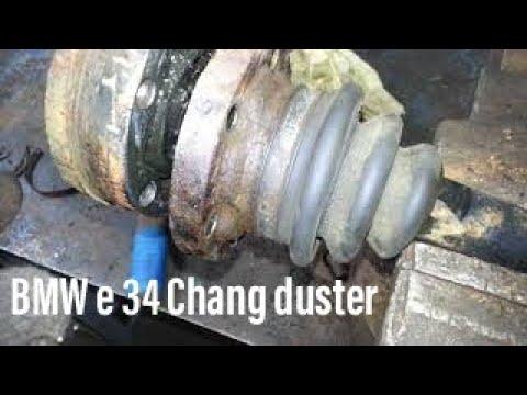 Замена пыльника полуоси BMW e34.