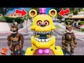 BRAND NEW UN-NIGHTMARE FREDBEAR ANIMATRONIC! GTA 5 Mods For Kids FNAF RedHatter