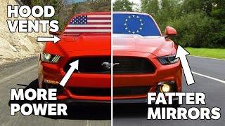 getlinkyoutube.com-10 Differences Between US And European Mustangs