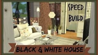getlinkyoutube.com-Sims 4 - Speed Build - Black and White House