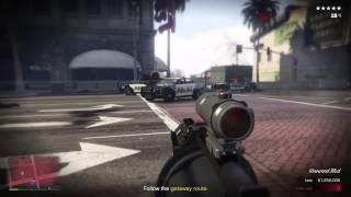 getlinkyoutube.com-GTA V Online Heist Final ปล้นจนเครียด....