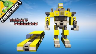 getlinkyoutube.com-Bumblebee - Transformers Minecraft Tutorial