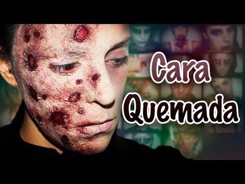 Maquillaje Halloween: Cara Quemada (Freddy Krueger) efectos especiales, FX #5 | Silvia Quiros