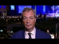 Nigel Farage: I'm pleased Trump is not afraid to stand up to the media