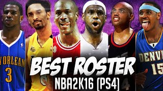 getlinkyoutube.com-NBA2K16 Best Roster Ever! (PS4) - My GM/ My League!