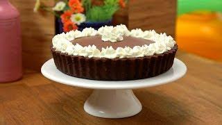getlinkyoutube.com-فطيرة موس الشوكولاتة - وصفات فتافيت القصيرة - فتافيت