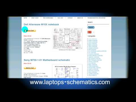 Motherboard schematic &amp; Block Diagrams, Laptop / Notebook Schematics For Repair