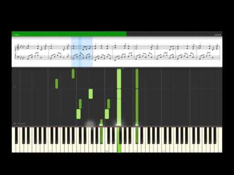 Final Fantasy XV - Noctis Theme Synthesia Piano Tutorial
