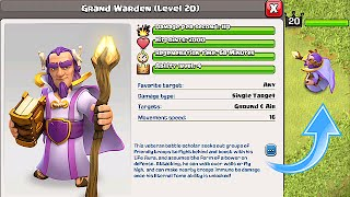 getlinkyoutube.com-Clash Of Clans - NEW HERO! GRAND WARDEN!!! (FIRST EVER FOOTAGE!!)