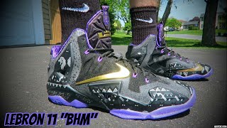 "getlinkyoutube.com-Lebron XI (11) Black History Month ""BHM"""