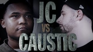 getlinkyoutube.com-KOTD - Rap Battle - Caustic vs JC