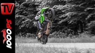 Kawasaki Z1000SX - Test | 5 Meinungen - 1 Bike | Stunts, Action, Sound