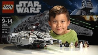 getlinkyoutube.com-MILLENNIUM FALCON - LEGO Star Wars Set 7965 - Time-lapse Build, Stop Motion, Unboxing & Review