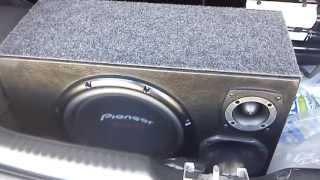 getlinkyoutube.com-Pioneer 309 s4  + Módulo Taramps ts-400x4