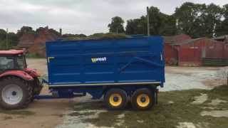 Harry West C27 range 14t Silage Trailer