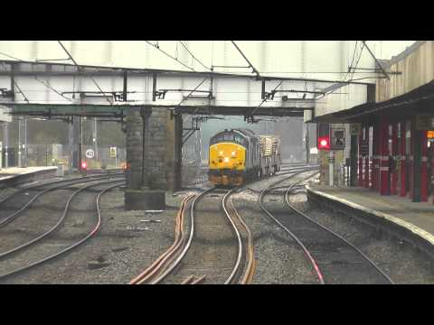 37425/37612 6c53 Crewe - Sellafield flasks, Sat.15th March 2014 THRASH !!