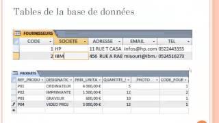 getlinkyoutube.com-Tutorial 1 Introduction aux Bases de données avec Microsoft Access MLI ENSET 2013